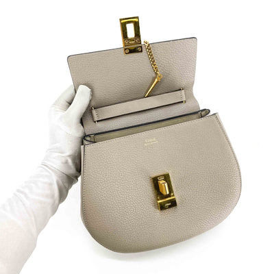 Chloe Medium Drew Bag Motty Grey