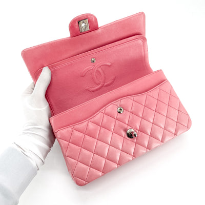 Chanel Quilted Lambskin Medium/Large Classic Flap Pink