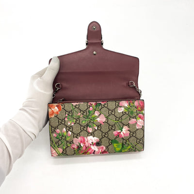 Gucci Dionysus Bloom Wallet On Chain GG Supreme