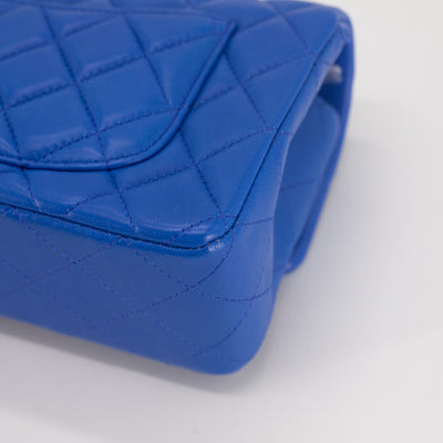 Chanel Quilted Rectangular Mini Blue