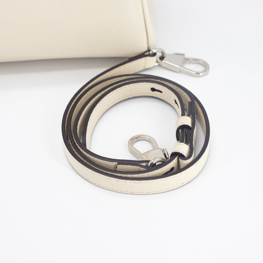 Gucci Horsebit Leather Tote Cream -marley only