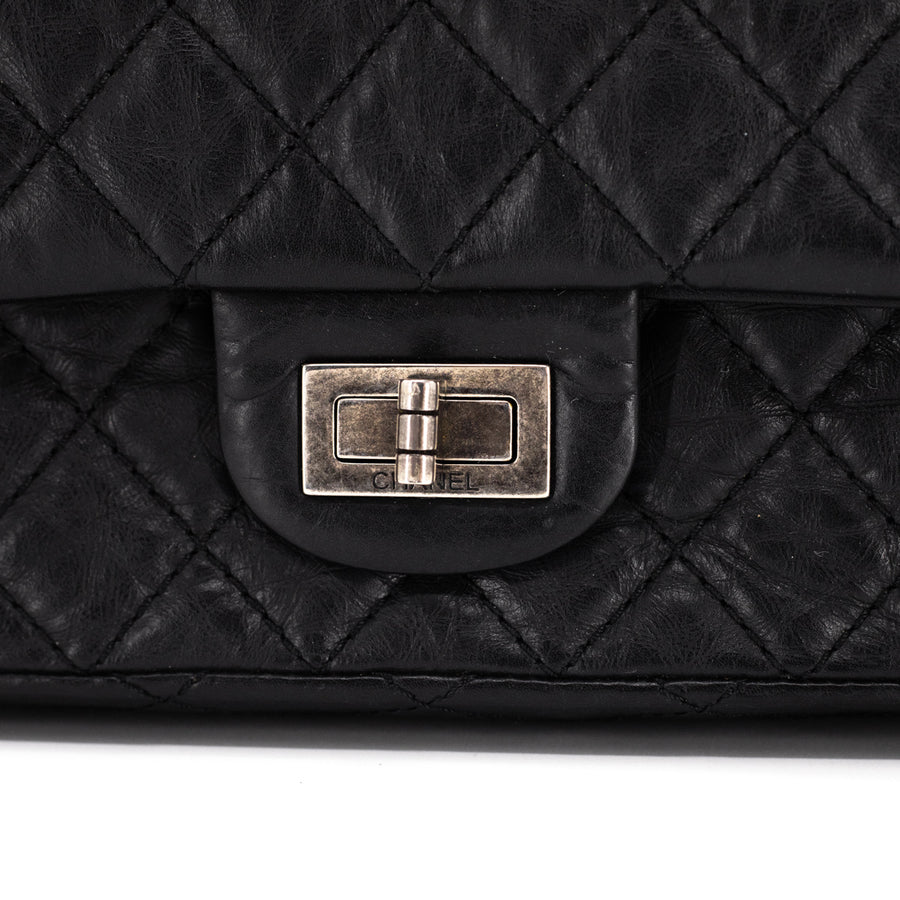 Chanel Reissue 224 Double Flap Black