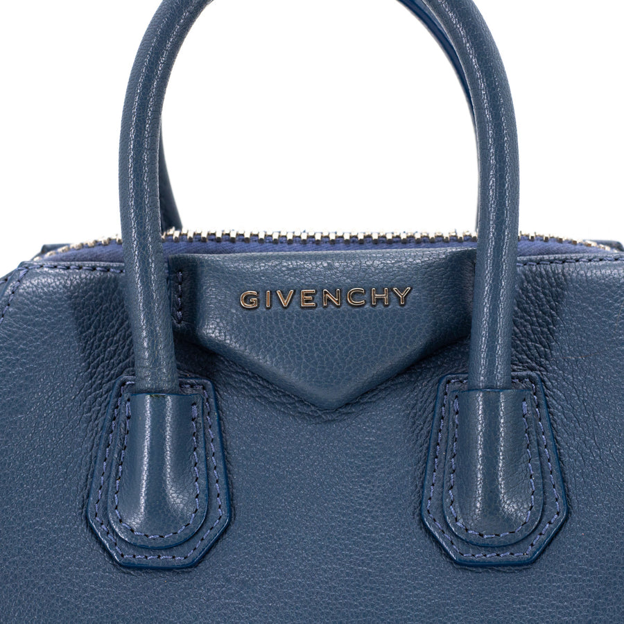 Givenchy Antigona Mini Steel Blue