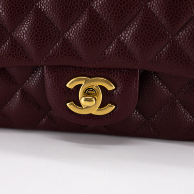 Chanel Quilted Rectangular Mini Burgundy