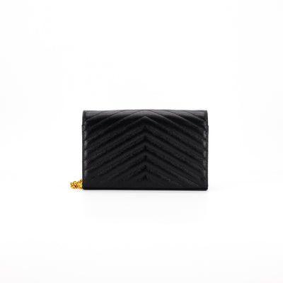 Saint Laurent Kate Cross Body Bag Black