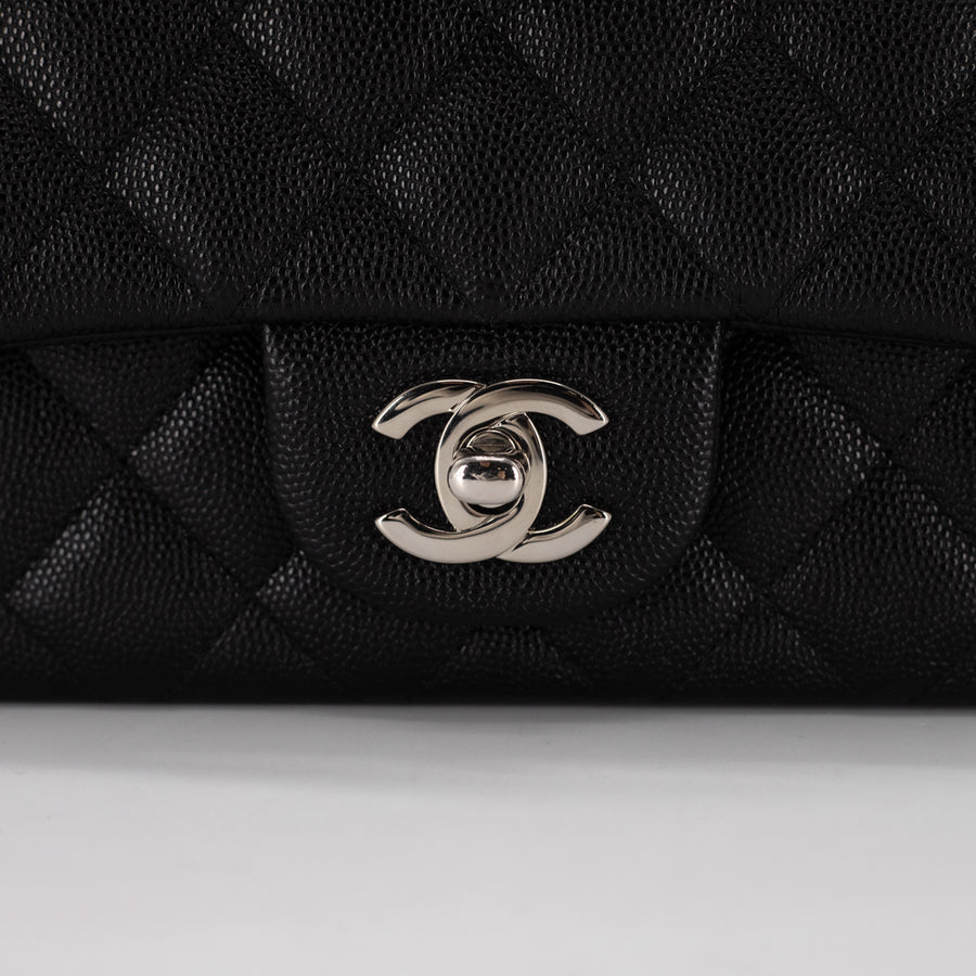 Chanel Caviar Rectangular Mini Black