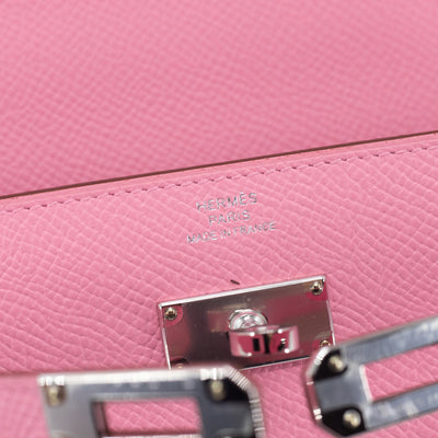 Hermes Kelly To Go Wallet Rose Confetti