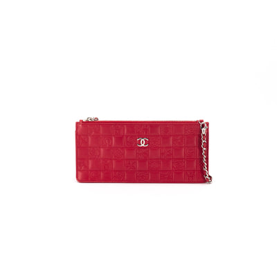 Chanel Pouch Red