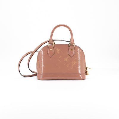 Louis Vuitton Alma BB Rose Velours