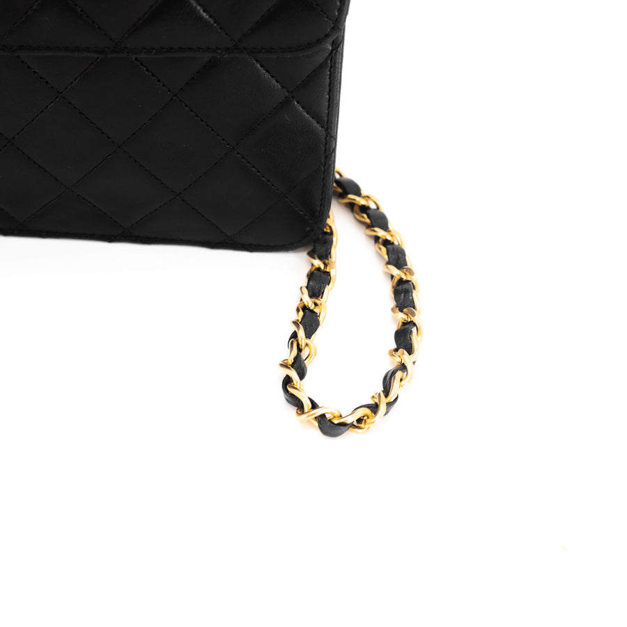 Chanel Clutch On Chain Black