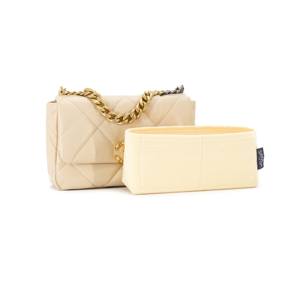 Chanel 19 Bag Small Beige
