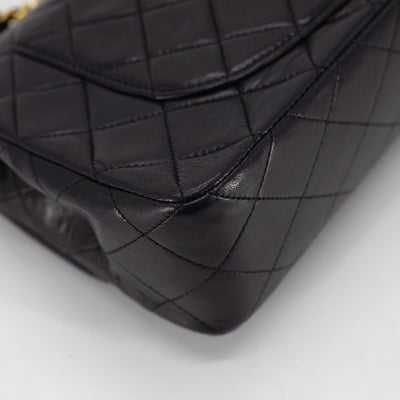 Chanel Vintage Small Classic Flap Black