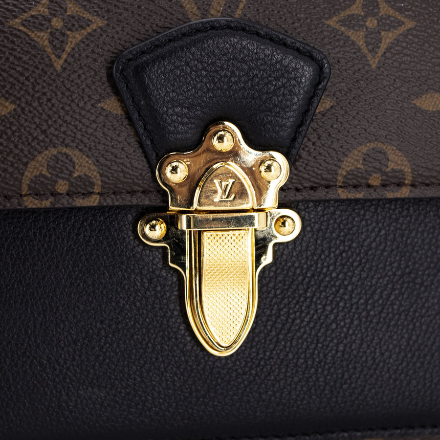 Louis Vuitton Victorie Crossbody Monogram Noir