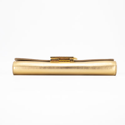 Louis Vuitton Louise Clutch Gold