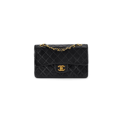 Chanel Quilted Vintage Medium/Large Classic Flap Black
