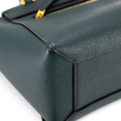 Celine Micro Belt Bag Dark Green