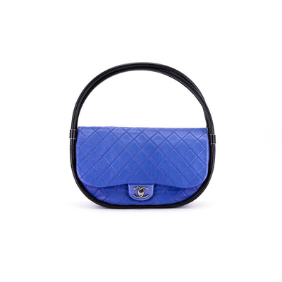 Chanel Hula Hoop Medium Bag Blue