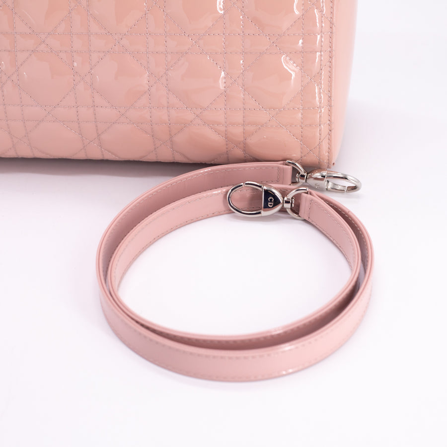 Dior Lady Dior Large Pink