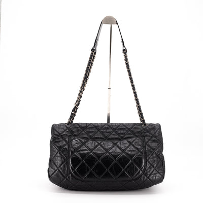 Chanel Quilted Calfskin Shoulder Bag Black