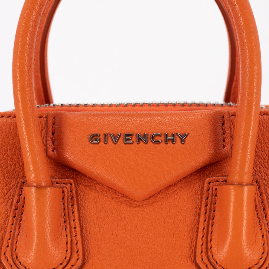 Givenchy Antigona Mini Orange