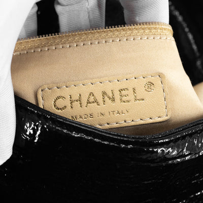 Chanel Patent Black Shoulder bag