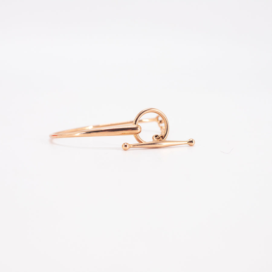 Hermes Filet D'or Bracelet 18K Rose Gold