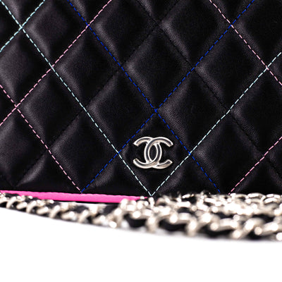 Chanel Wallet On Chain WOC Black/Multicolour