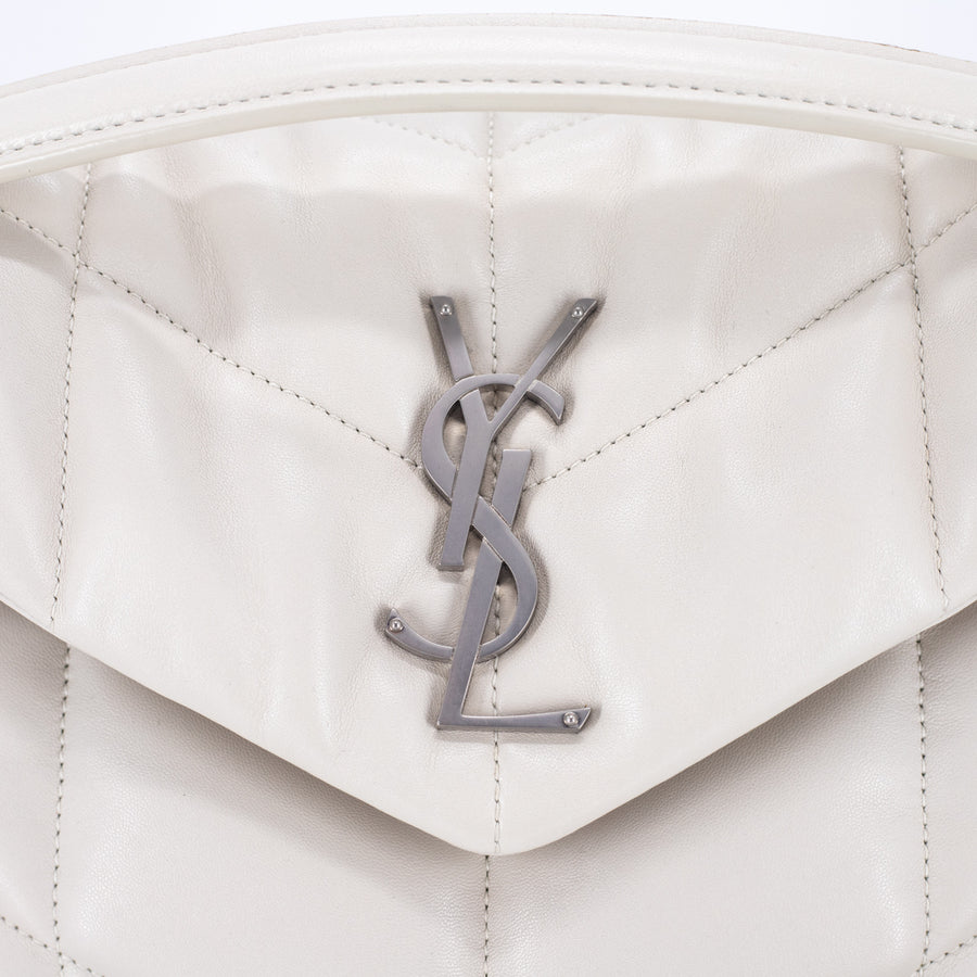 Saint Laurent Lou Lou Bag Off-White