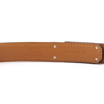 Hermes Kelly Belt Gold/Palladium