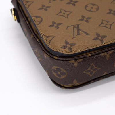 LOUIS VUITTON POCHETTE METIS REVERSE MONOGRAM CANVAS CROSS BODY BAG