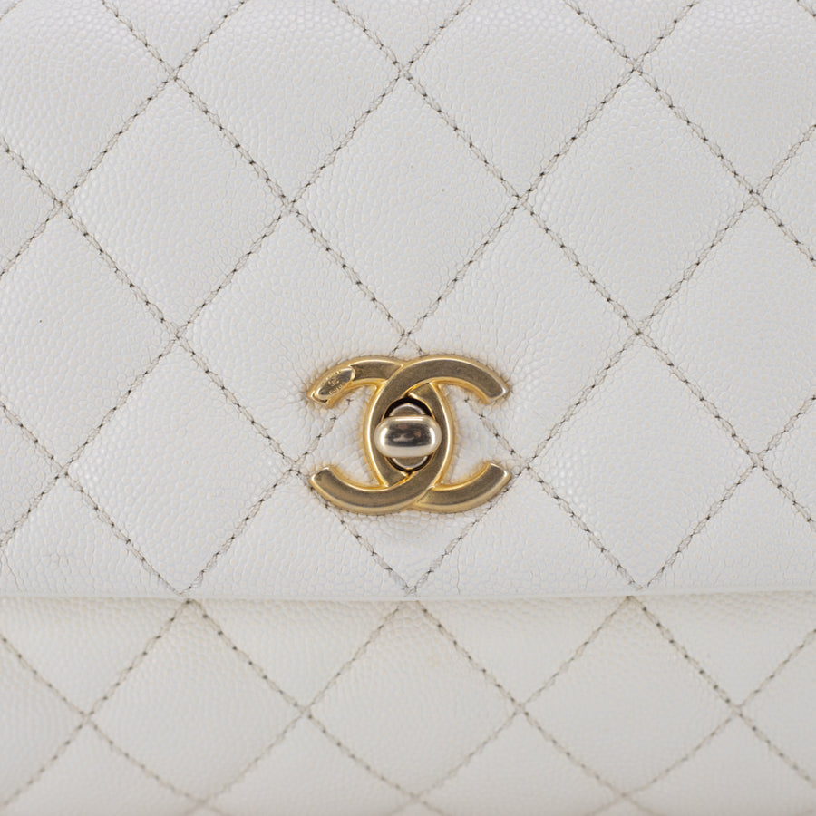 Chanel Coco Handle Mini Ivory