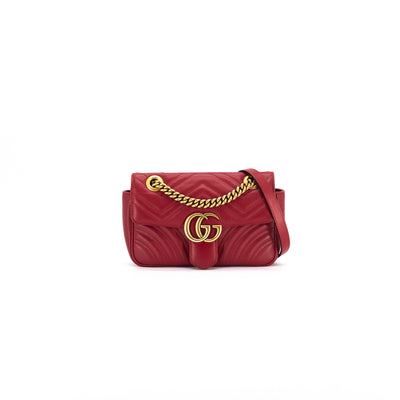 Gucci Red Small Marmont