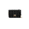 Dior Black Cannage Quilted Calfskin Miss Dior Promenade Pouch Clutch Bag