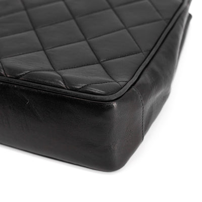 Chanel Quilted Calfskin Vintage Bag Black