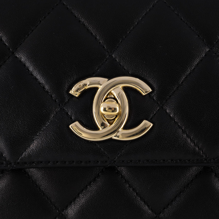 Chanel Small Trendy CC Black