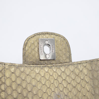 Chanel Python Flap Bag Champagne