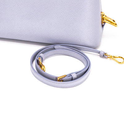 d6da26ae22913d PRADA SAFFIANO LUX PROMENADE TOP HANDLE CROSS BODY BAG Lavenda - THE ...