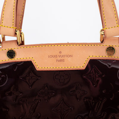 Louis Vuitton Amarante Monogram Vernis Brea GM