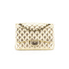 Chanel Limited Edition Melbourne Quilted Champagne Single Flap Jumbo Flap
