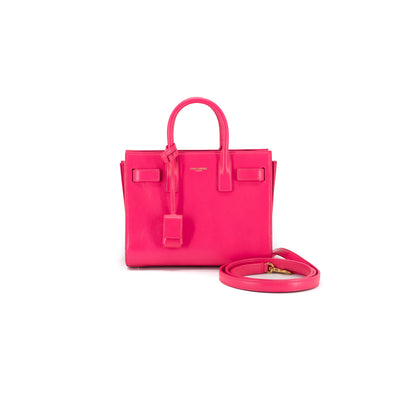 Saint Laurent Nano Sac De Jour Pink