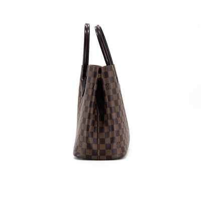 Louis Vuitton Damier Ebene Kensington V Tote Bag