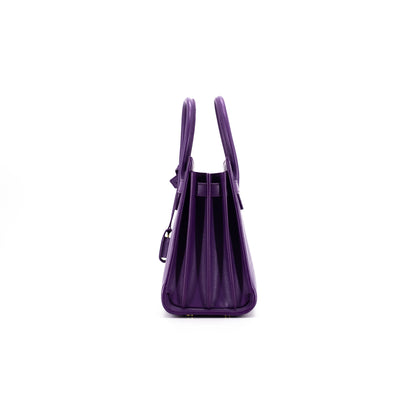 Saint Laurent Baby Sac De Jour Purple