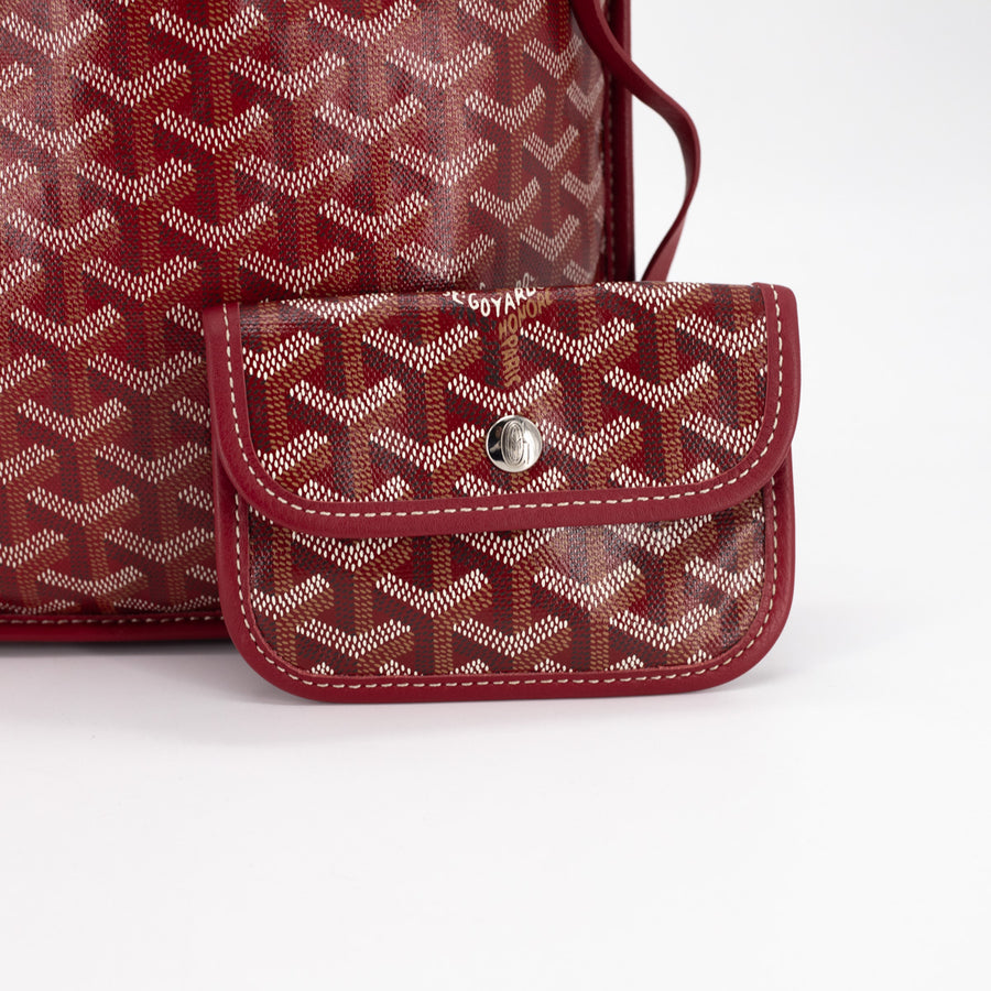 Goyard Mini Tote Red