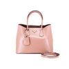 Prada Saffiano Double Bag Orchidea
