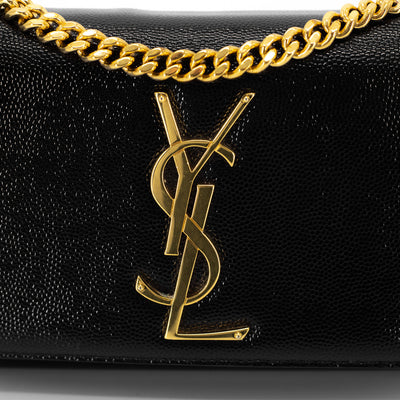 Saint Laurent Small Kate Crossbody Black