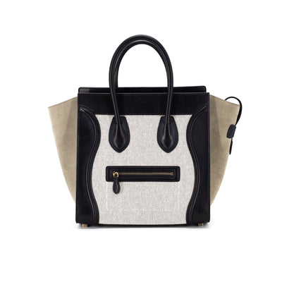 Celine Luggage Mini Tricolor