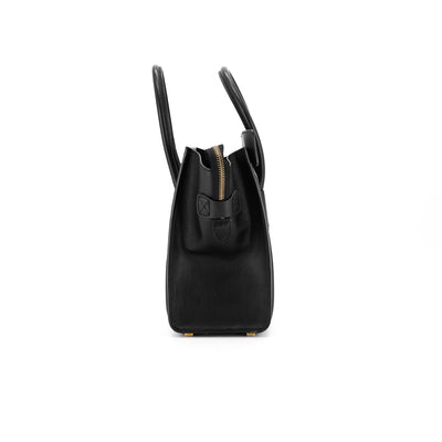 Celine Luggage Micro Black