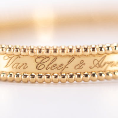 Van Cleef & Arpels Perlée Signature Bracelet Yellow Gold