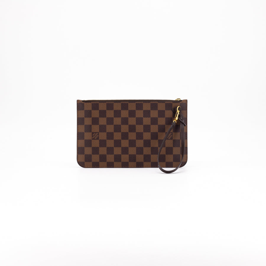 Louis Vuitton Neverfull MM Pouch Only Damier Ebene