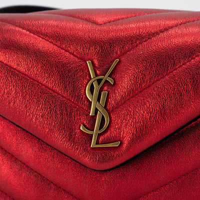 Saint Laurent Lou Lou Mini/Toy Red